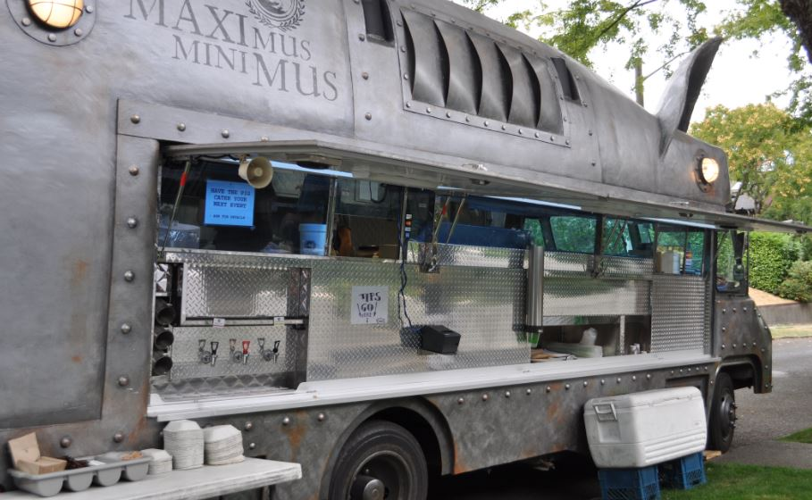 materiel snacking food truck