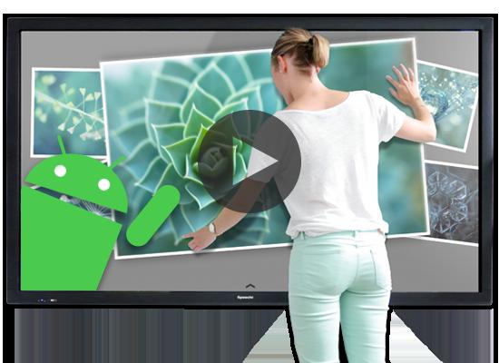 La formation en entreprise rendue ludique via les écrans interactifs